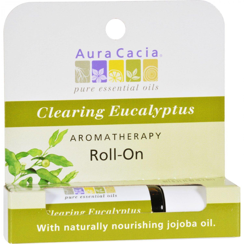 Aura Cacia Purifying Eucalyptus Stick - 0.29 fl oz - Case of 6