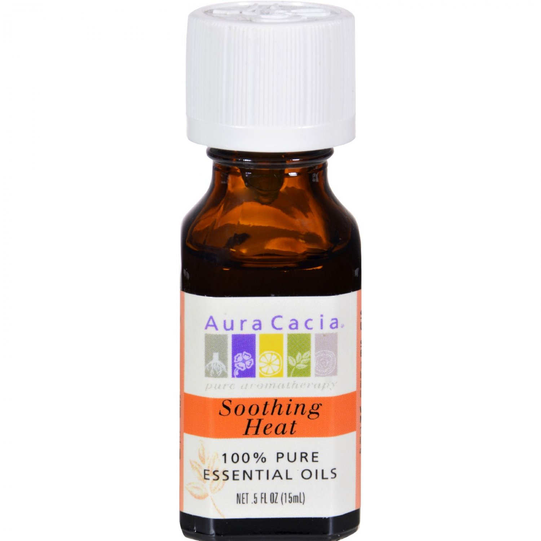 Aura Cacia Pure Essential Oils Soothing Heat - 0.5 fl oz