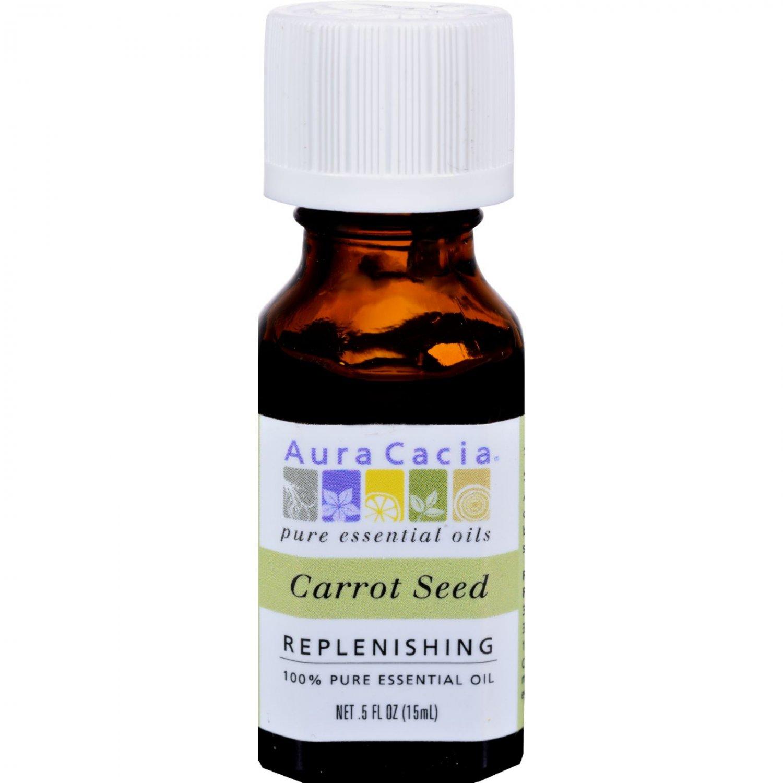Aura Cacia Pure Essential Oil Carrot Seed - 0.5 fl oz