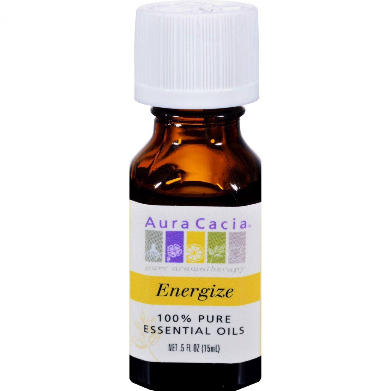 Aura Cacia Pure Essential Oil Energize - 0.5 fl oz