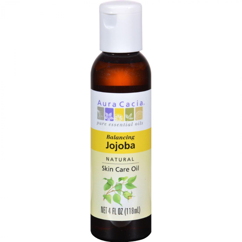 Aura Cacia Jojoba Natural Skin Care Oil - 4 fl oz