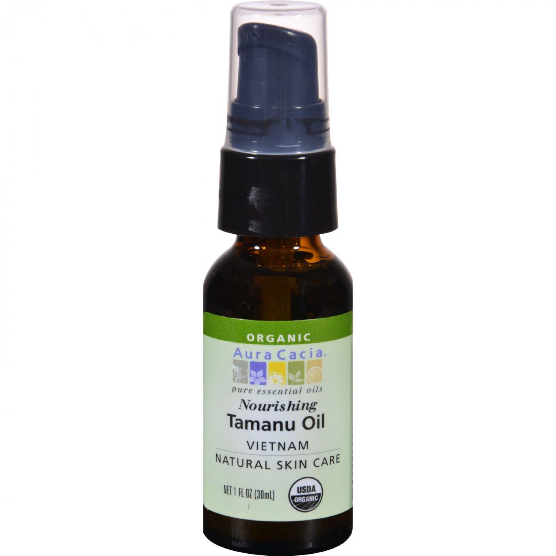 Aura Cacia Natural Skin Care Oil Tamanu - 1 fl oz