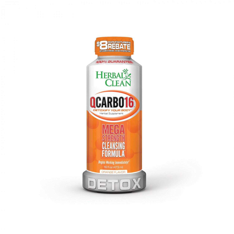 Herbal Clean QCARRBO16 Detox Orange - 16 fl oz