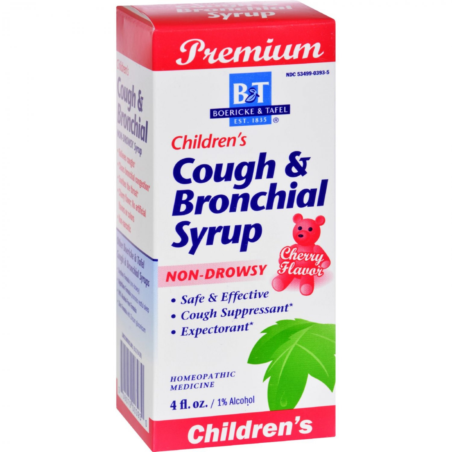 Boericke and Tafel Children's Cough and Bronchial Syrup - 4 fl oz