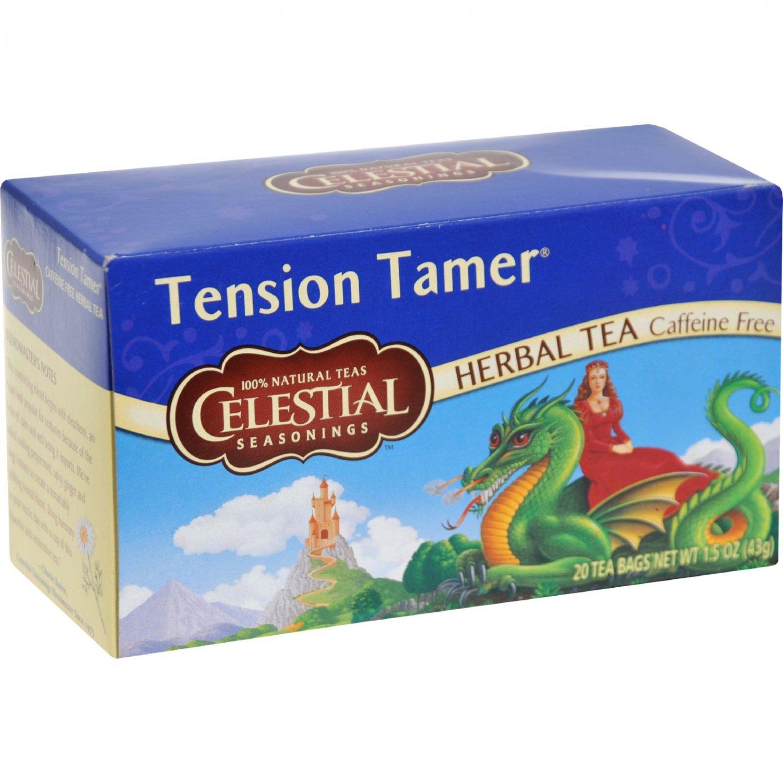 Celestial Seasonings Herbal Tea - Tension Tamer - Caffeine Free - 20 Bags