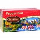 Celestial Seasonings Herb Tea Peppermint - 20 Tea Bags - Case of 6