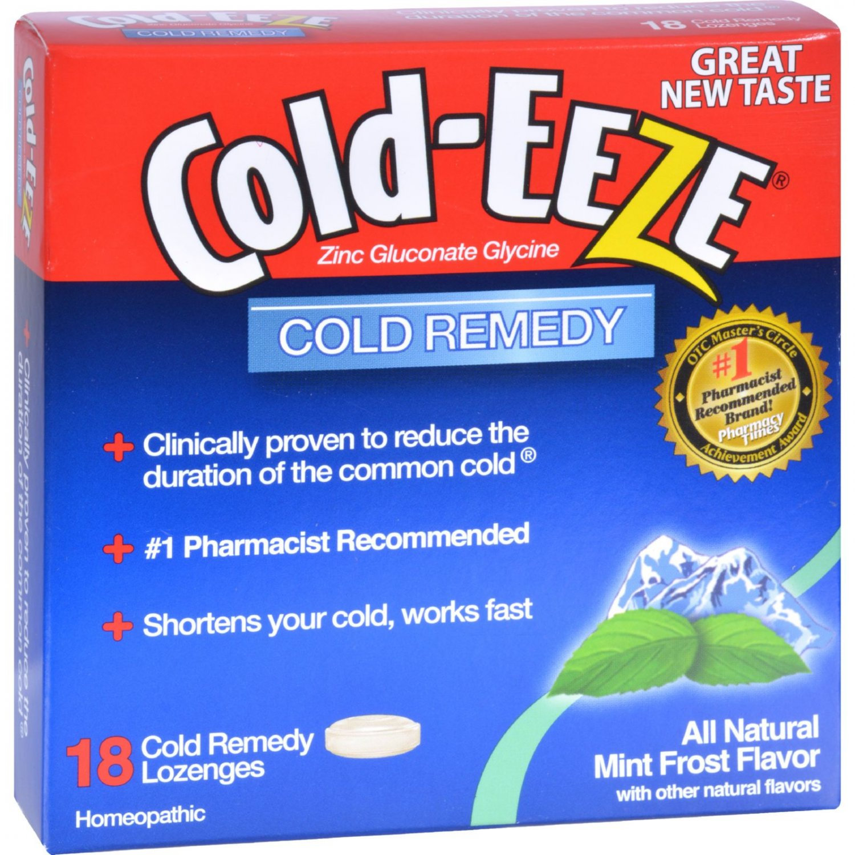 Cold-EEZE Cold Remedy Lozenges Mint Frost - 18 Lozenges