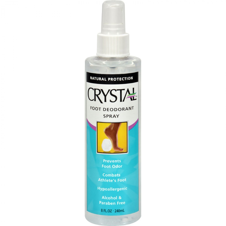 Crystal Foot Deodorant Spray - 8 fl oz