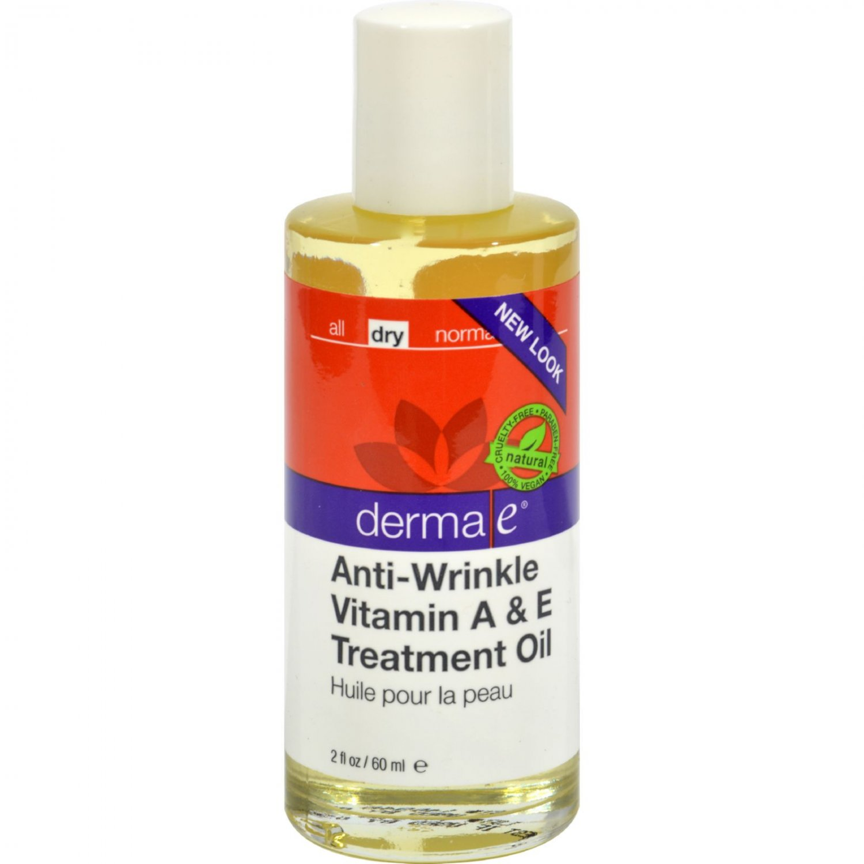Derma E Vitamin A with E Wrinkle Treatment Oil - 2 fl oz