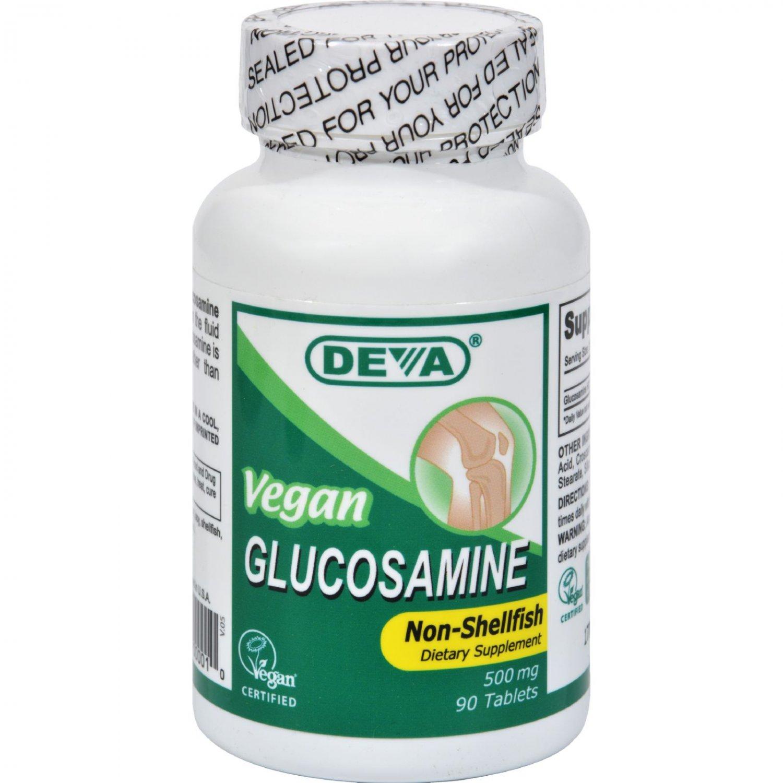 Deva Vegan Glucosamine - 500 mg - 90 Tablets