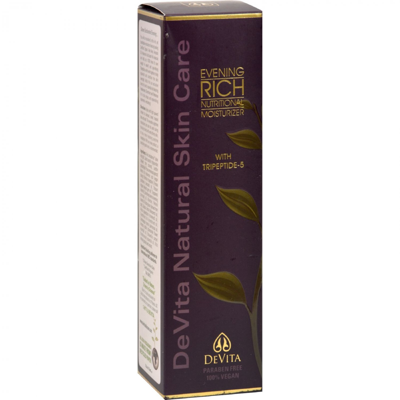 Devita Evening Rich Nutritional Moisturizer - 2.5 fl oz