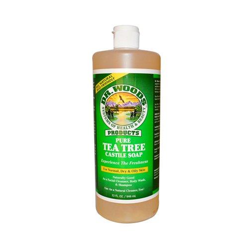 Dr. Woods Pure Castile Soap Tea Tree - 32 fl oz