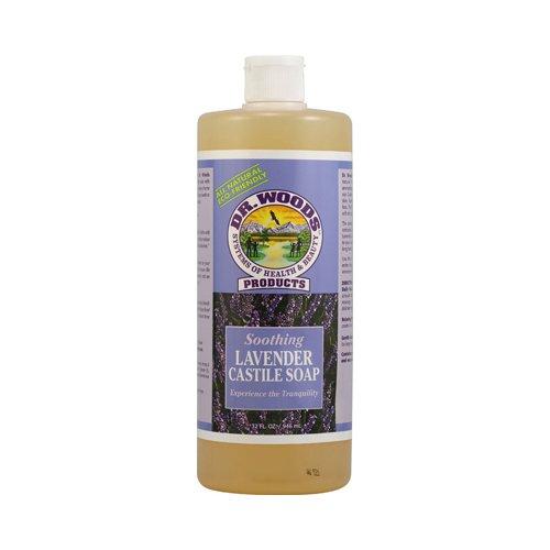 Dr. Woods Castile Soap Soothing Lavender - 32 fl oz