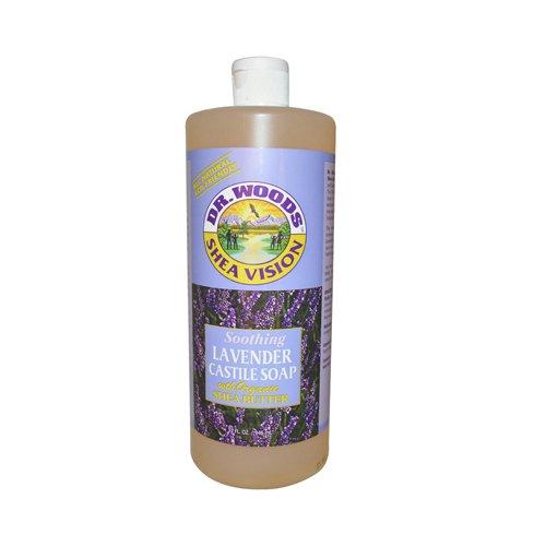 Dr. Woods Shea Vision Soothing Lavender Castile Soap - 32 oz