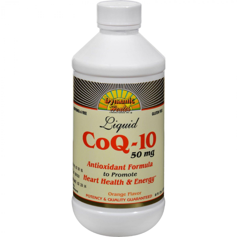 Dynamic Health CoQ-10 Liquid Orange - 50 mg - 8 fl oz
