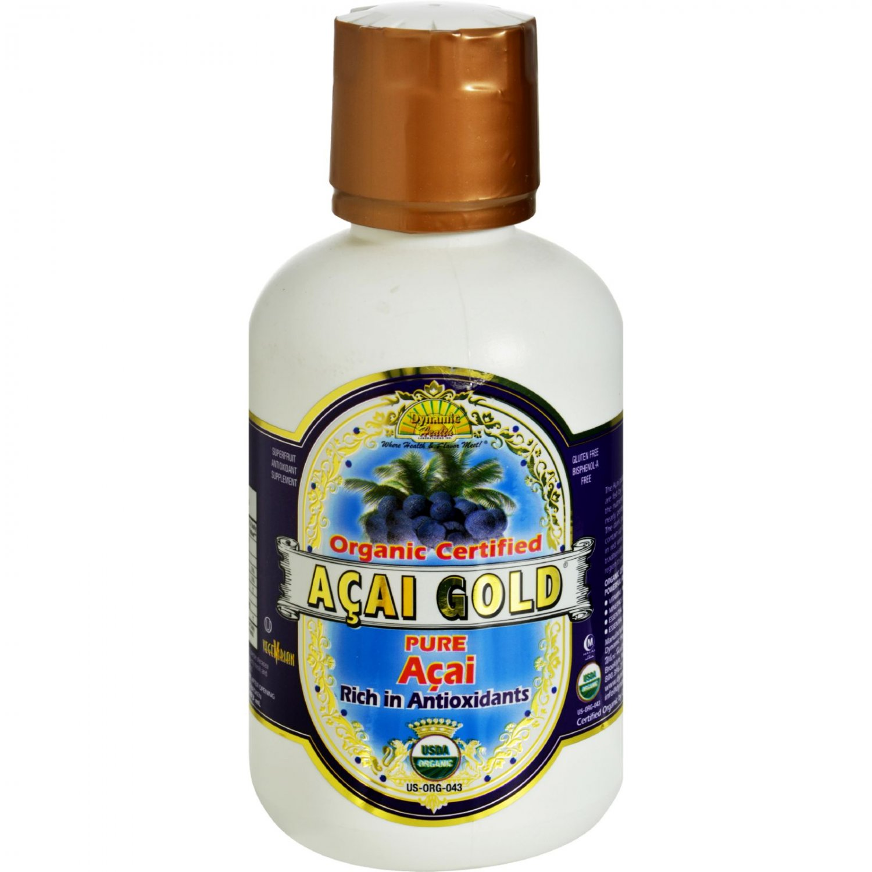 Dynamic Health Organic Acai Gold - 16 fl oz