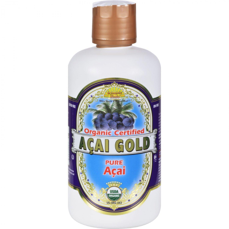 Dynamic Health Organic Acai Gold - 32 fl oz
