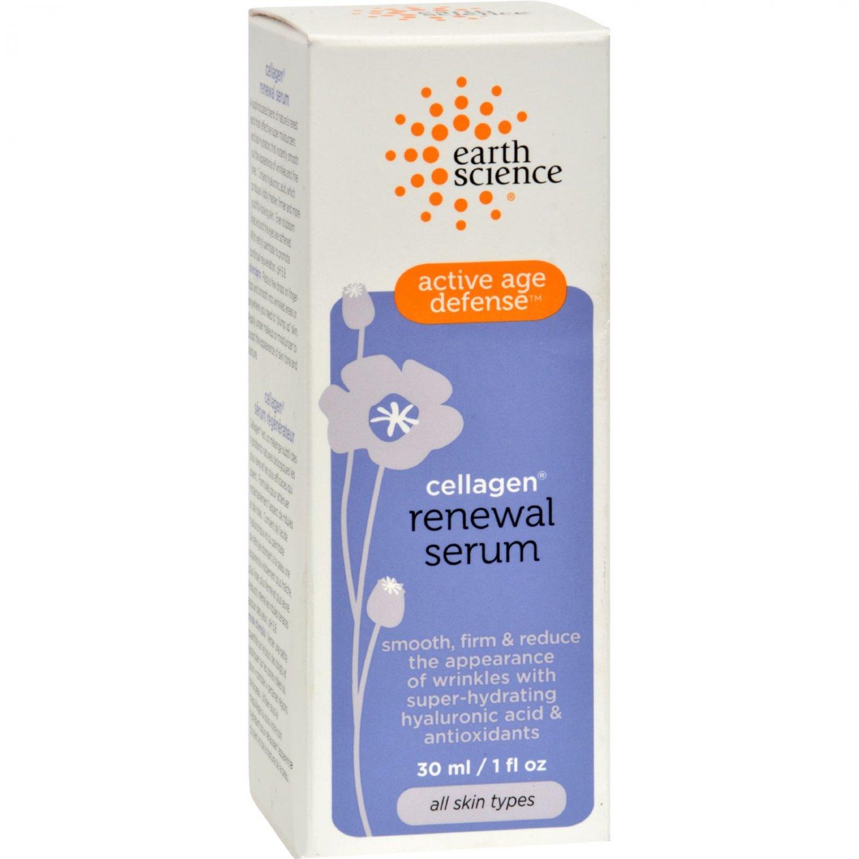 Earth Science Active Age Defense Cellagen Renewal Serum - 1 fl oz