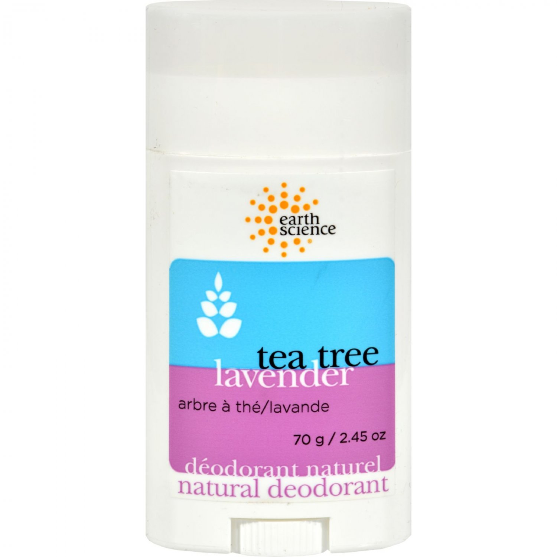 Earth Science Natural Tea Tree Deodorant Lavender - 2.5 oz