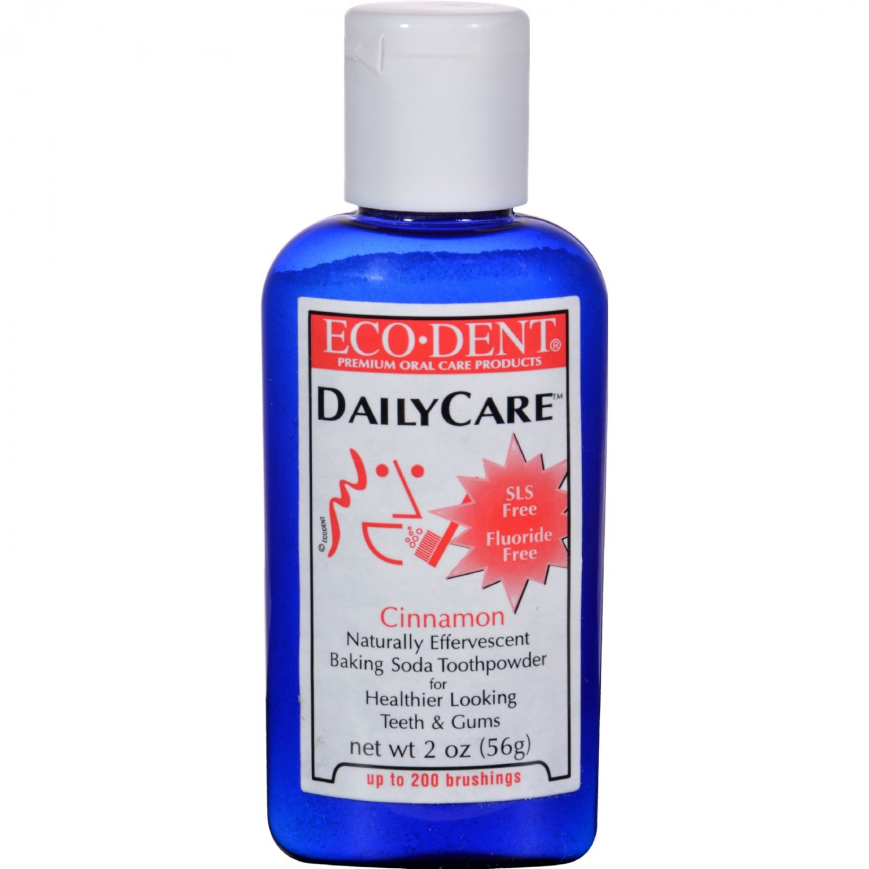 Eco-Dent Toothpowder Daily Care - Cinnamon - 2 oz