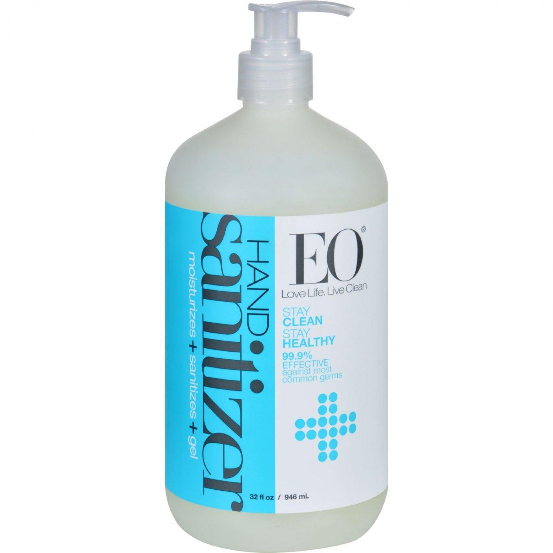 EO Products Hand Sanitizer Gel - Natural - Unscented - 32 oz