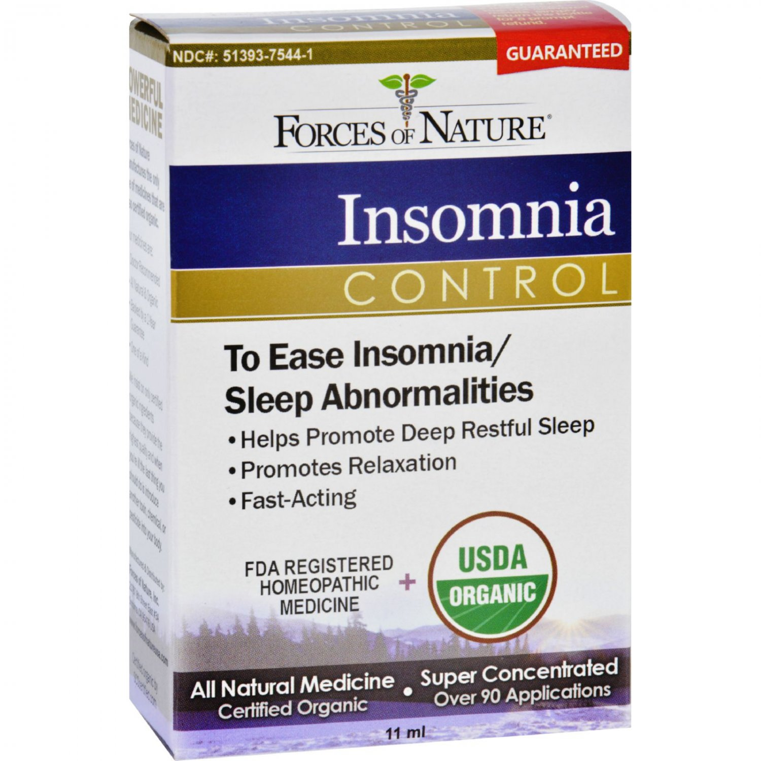 Forces of Nature Organic Insomnia Control - 11 ml