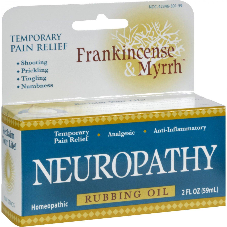Frankincense and Myrrh Neuropathy Rubbing Oil - 2 fl oz