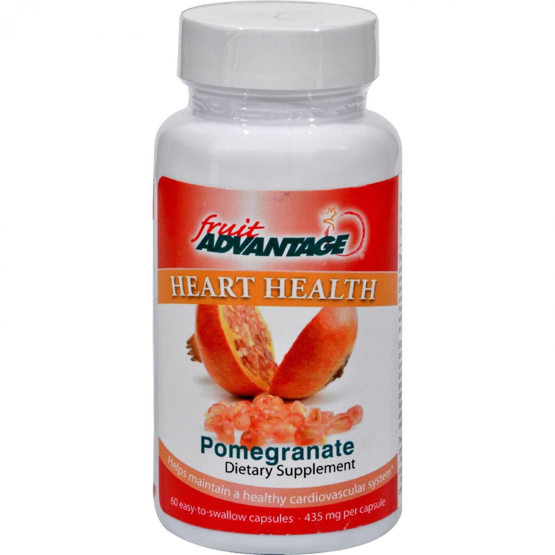 Fruit Advantage Heart Health Pomegranate - 60 Vegetarian Capsules