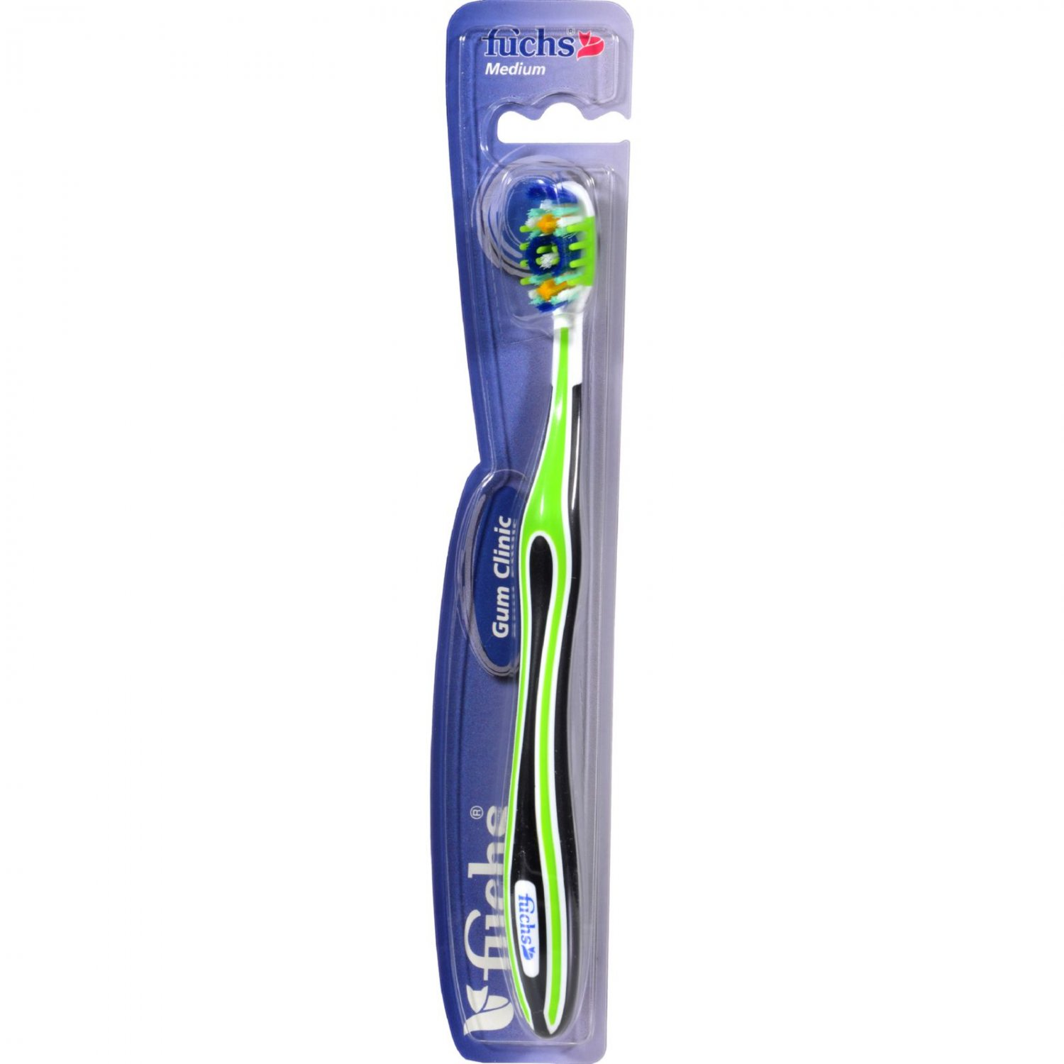 Fuchs Gum Clinic Toothbrush - Medium - Case of 10