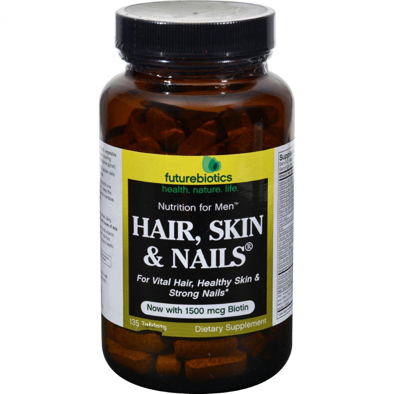 FutureBiotics Hair Skin and Nails for Men - 135 Tablets