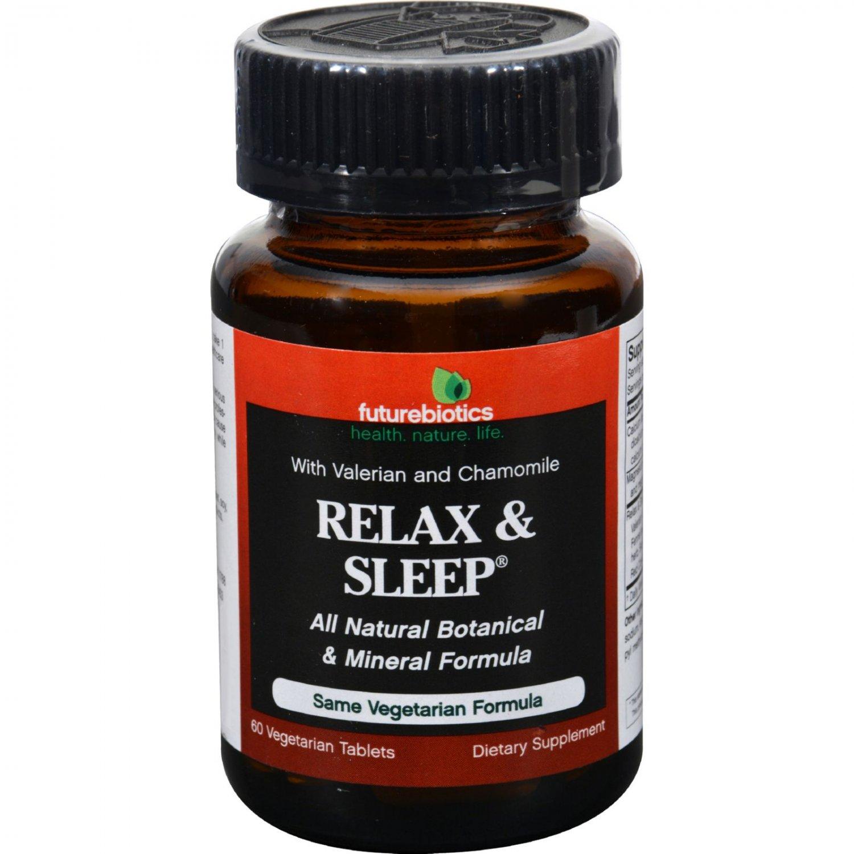 FutureBiotics Relax and Sleep - 60 Tablets