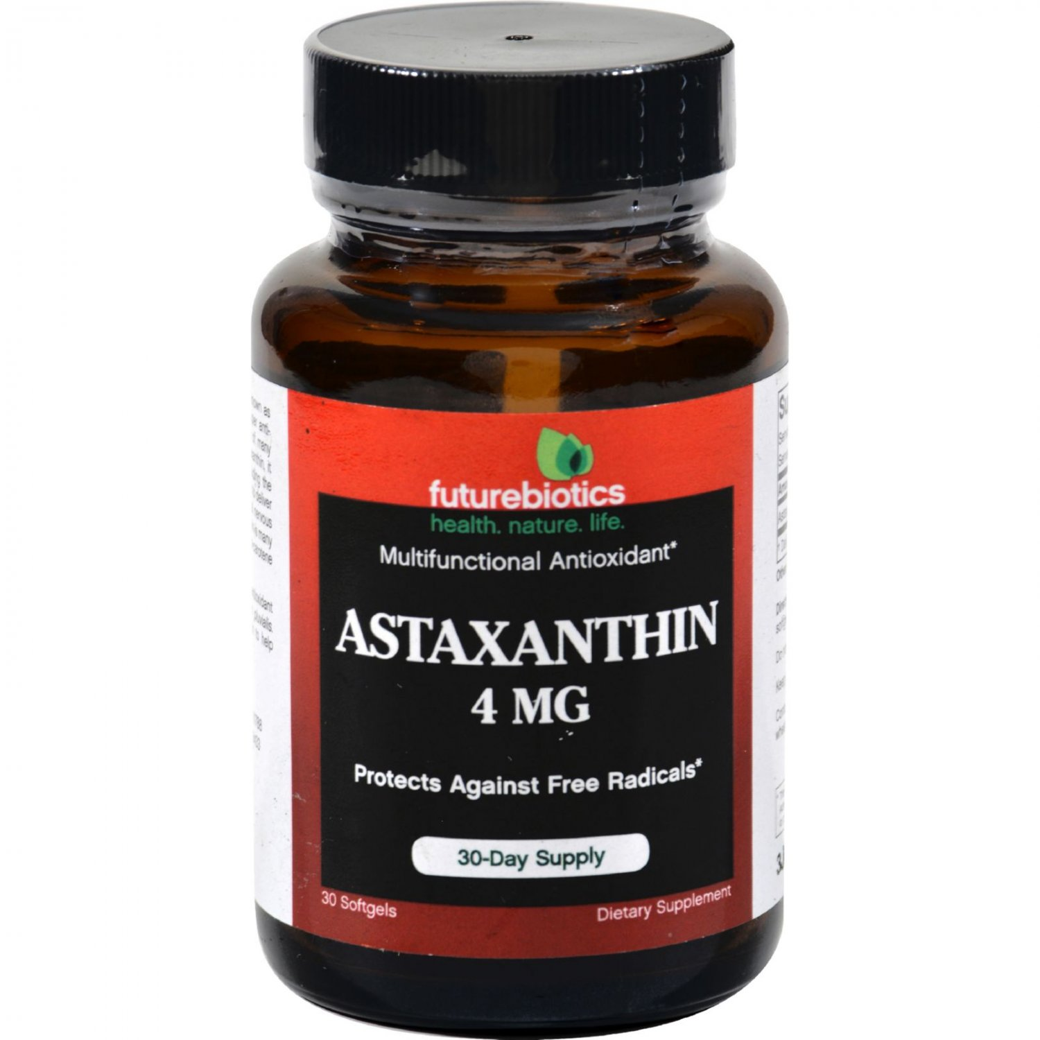 FutureBiotics Astaxanthin - 4 mg - 30 Softgels