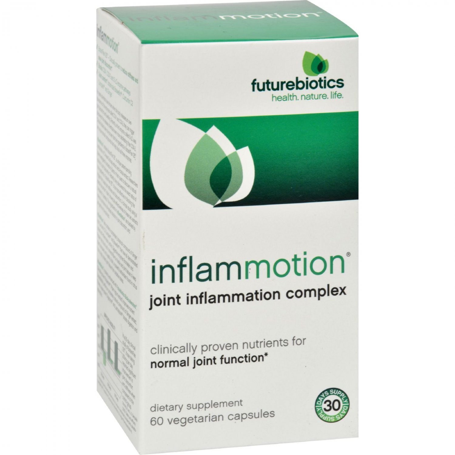 FutureBiotics InflamMotion - 60 Vegetarian Capsules