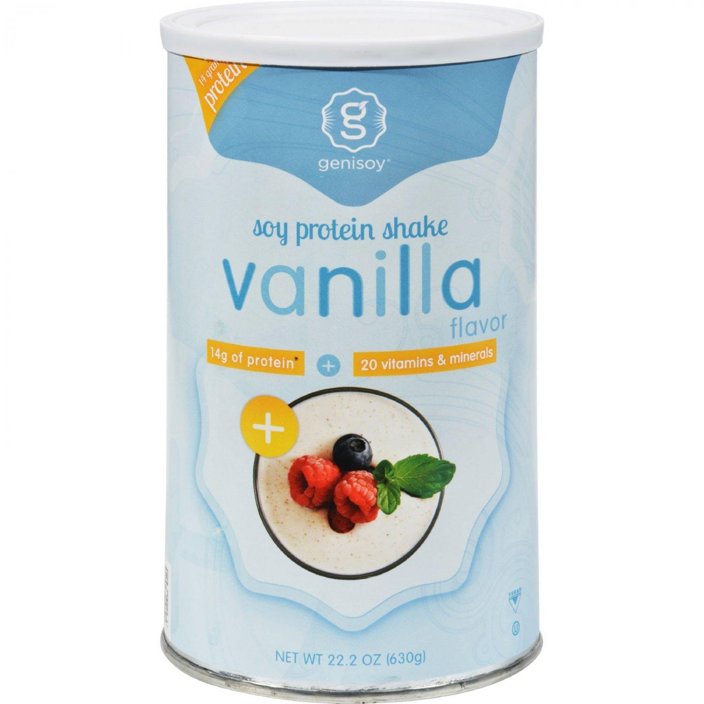 GeniSoy Soy Protein Shake Vanilla - 22.2 oz