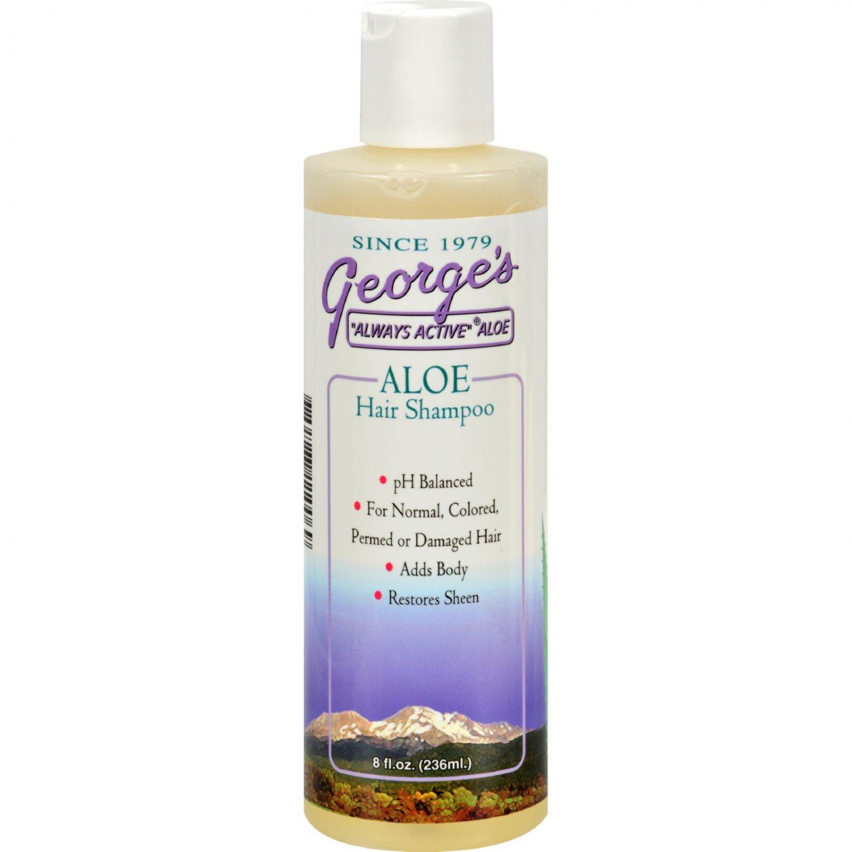 George's Aloe Vera Hair Shampoo - 8 fl oz