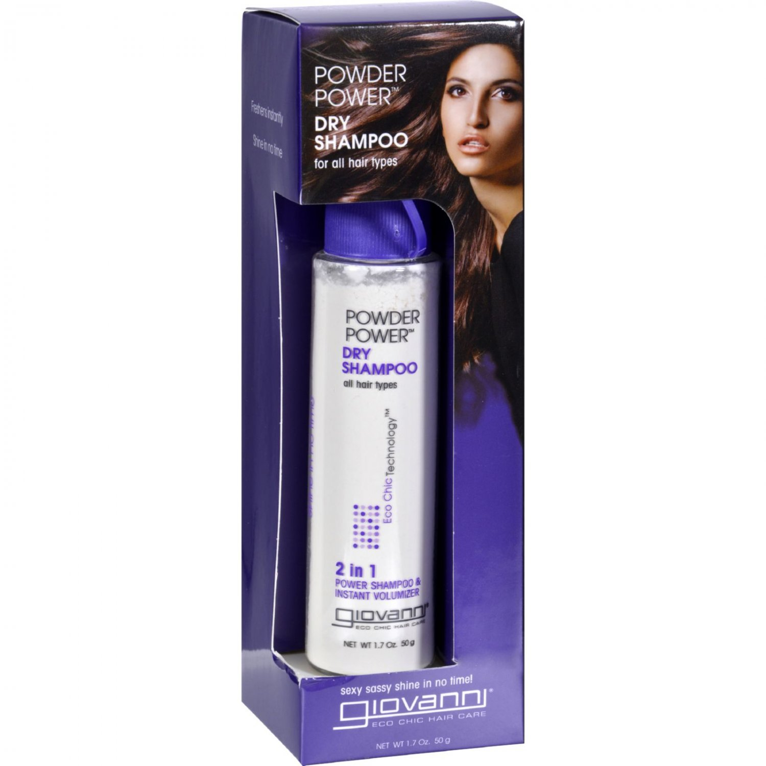 Giovanni Hair Care Products Shampoo - Powder Power Dry - 50 Grams