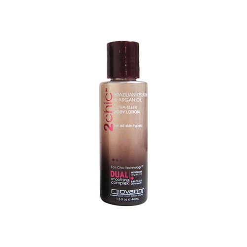 Giovanni Hair Care Products Body Lotion - 2Chic Silk - Travel Size - Case of 12 - 1.5 oz
