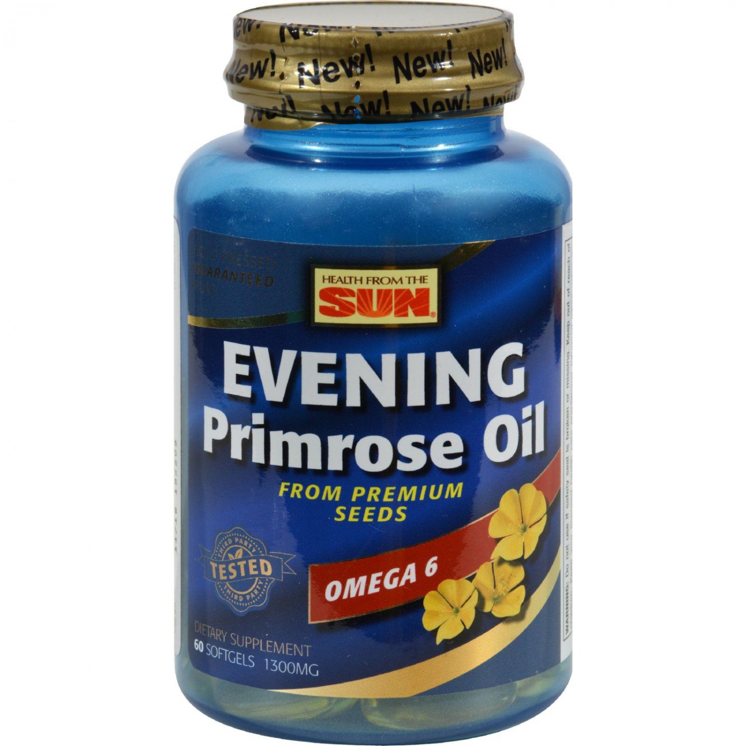 Health From The Sun Evening Primrose Oil - 1300 mg - 60 Caps