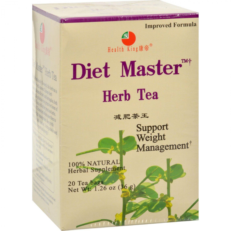 Health King Diet Master Herb Tea - 20 Tea Bags