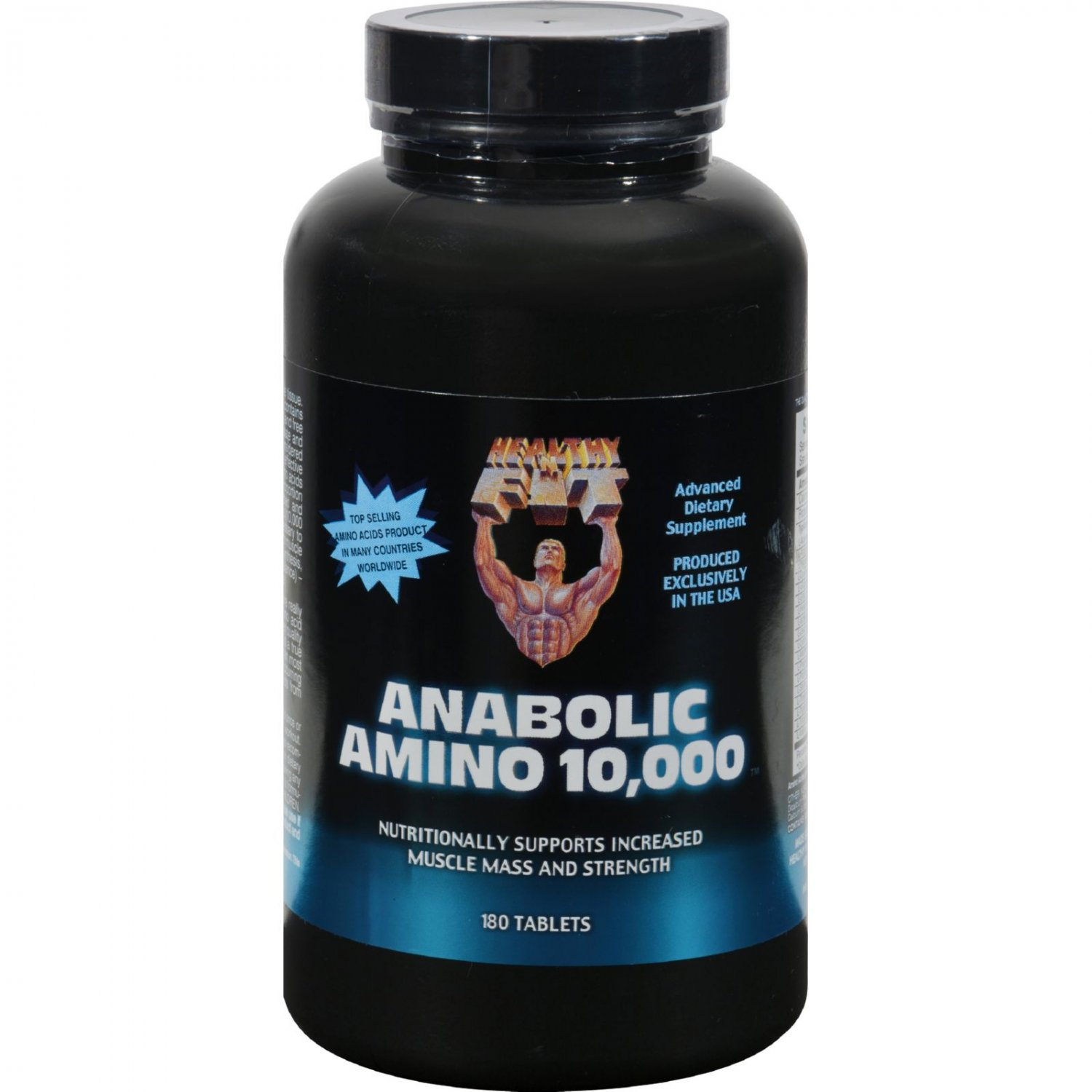 Healthy 'N Fit Nutritionals Amino 10000 - 180 Tablets