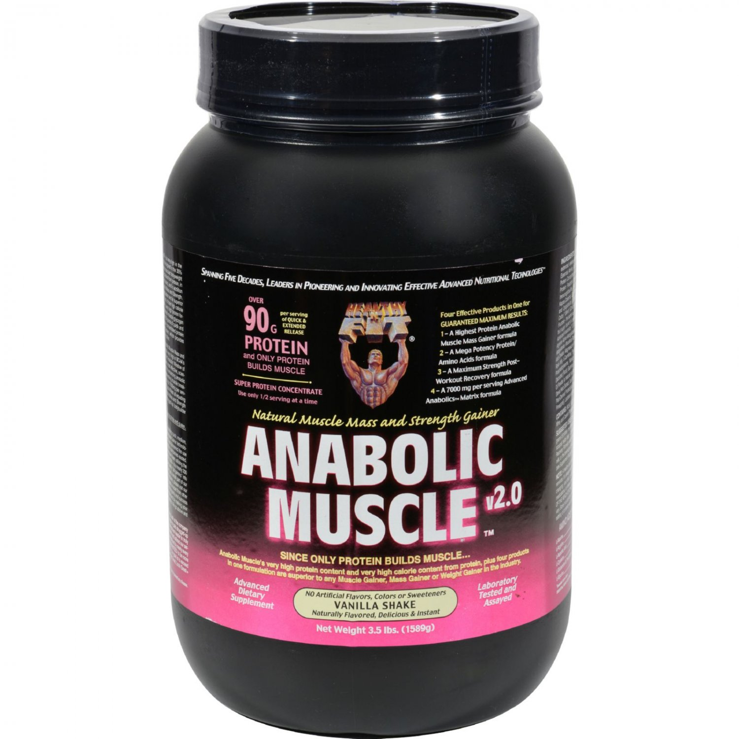 Healthy 'N Fit Nutritionals Muscle Vanilla Shake - 3.5 lbs