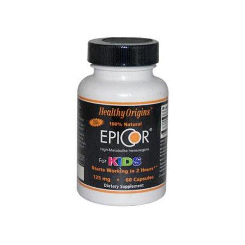 Healthy Origins EpiCor for Kids - 125 mg - 60 Capsules