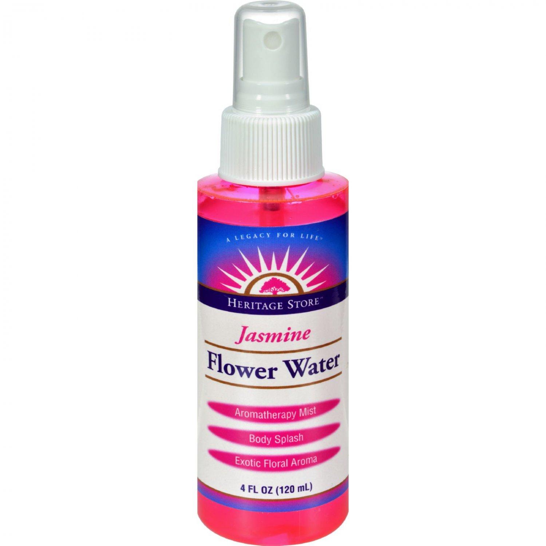 Heritage Products Flower Water Jasmine - 4 fl oz