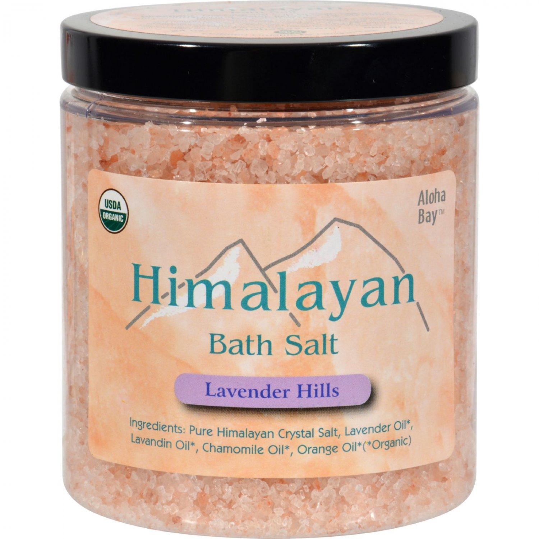 Himalayan Bath Salt Lavender Hills - 24 oz