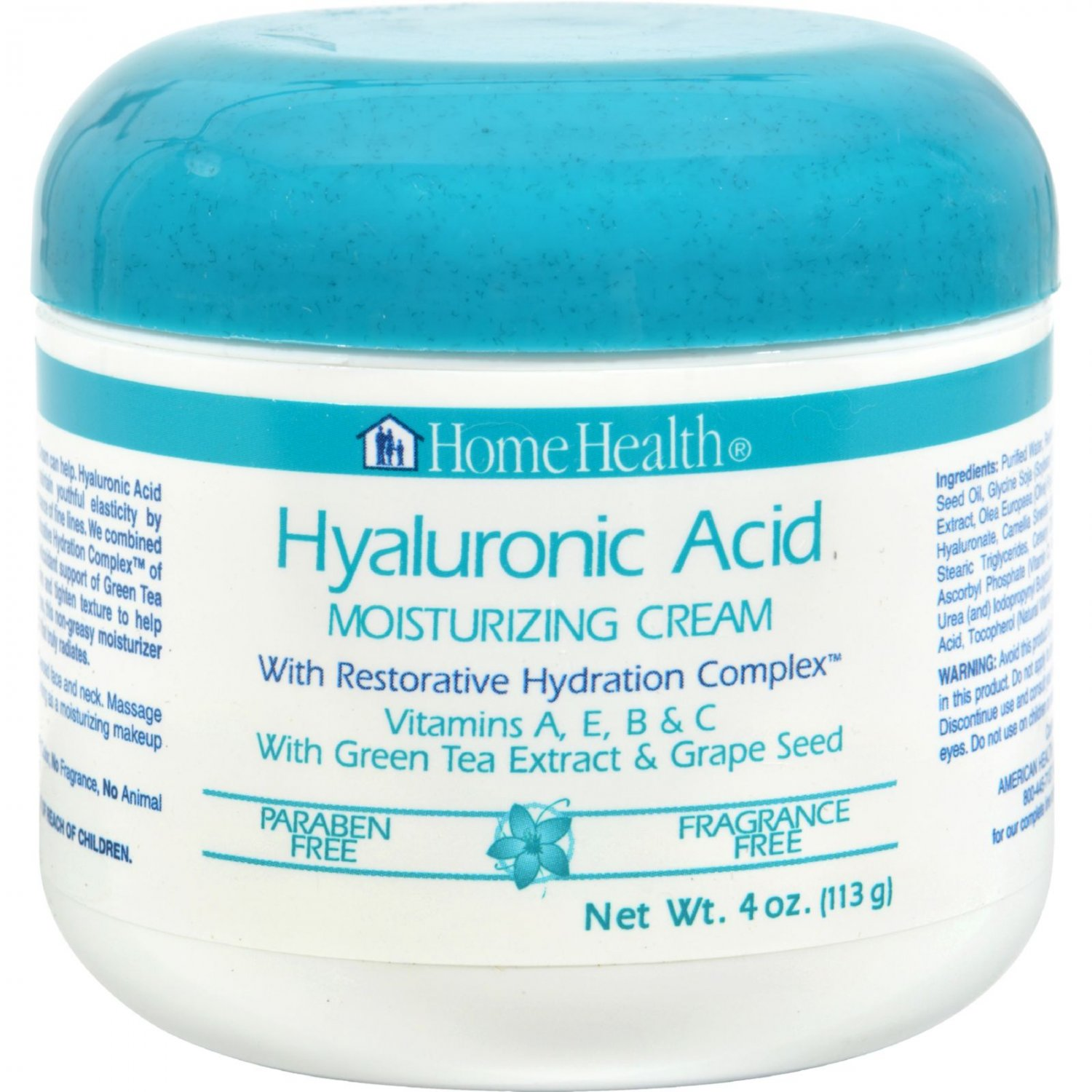 Home Health Hyaluronic Acid Moisturizing Cream - 4 oz