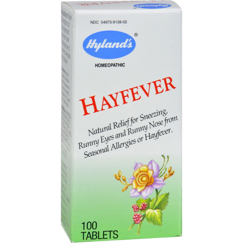 Hyland's Hayfever - 100 Tablets