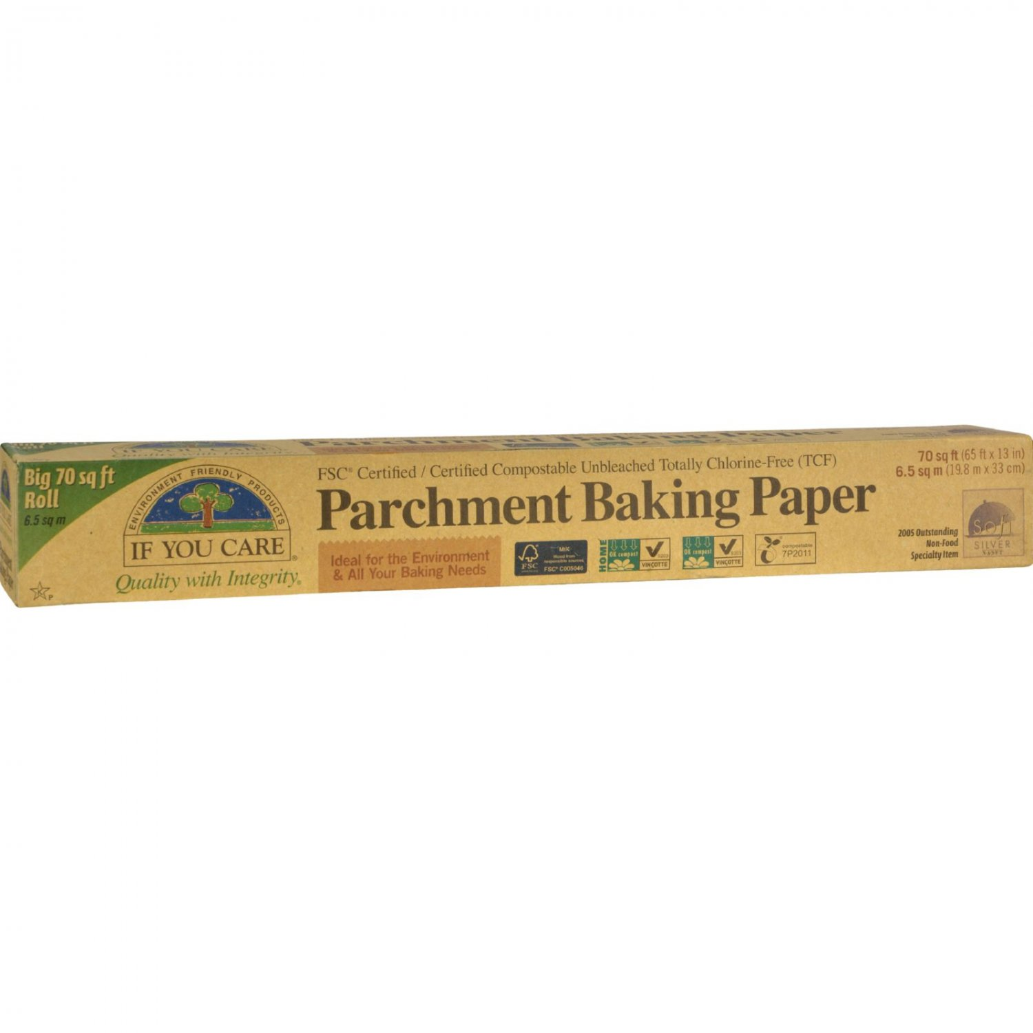 If You Care Parchment Paper - 70 Sq Ft Roll (Pack of 3)