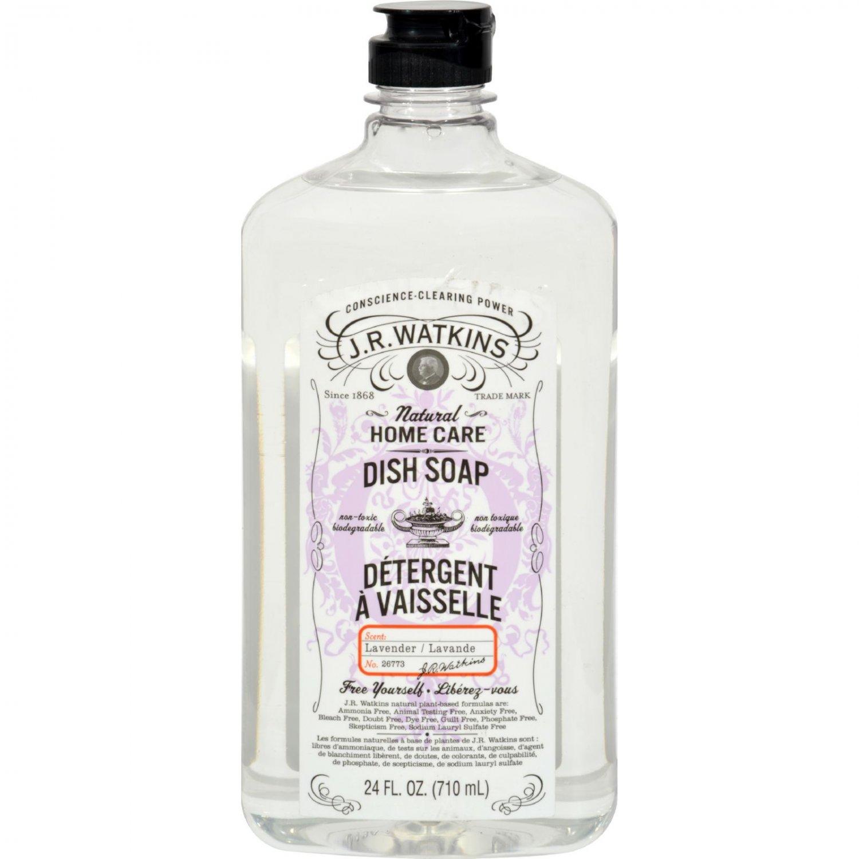 J.R. Watkins Liquid Dish Soap Lavender - 24 fl oz