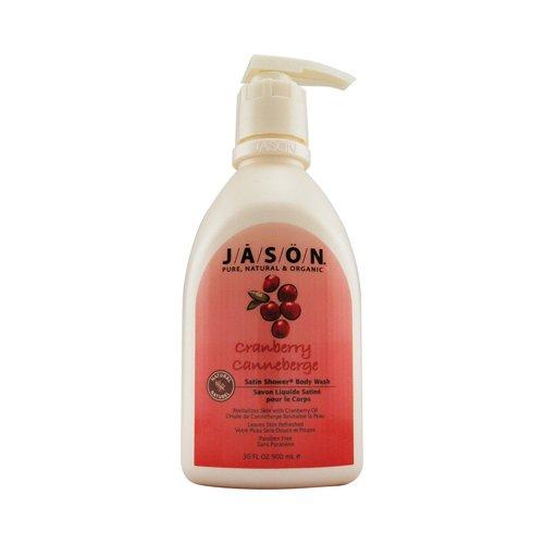 Jason Satin Shower Body Wash Cranberry - 30 fl oz