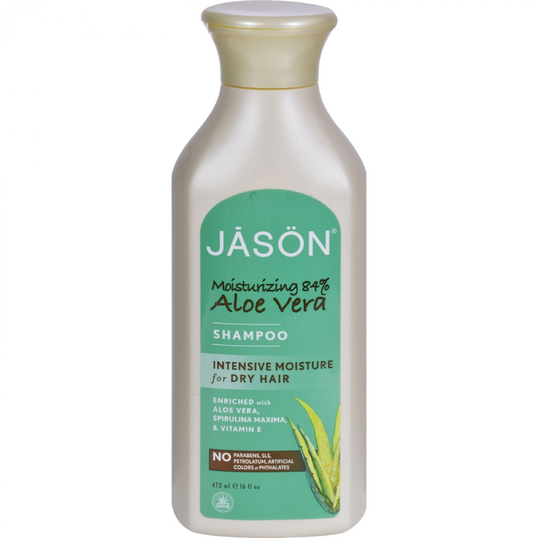 Jason Pure Natural Shampoo Aloe Vera for Dry Hair - 16 fl oz
